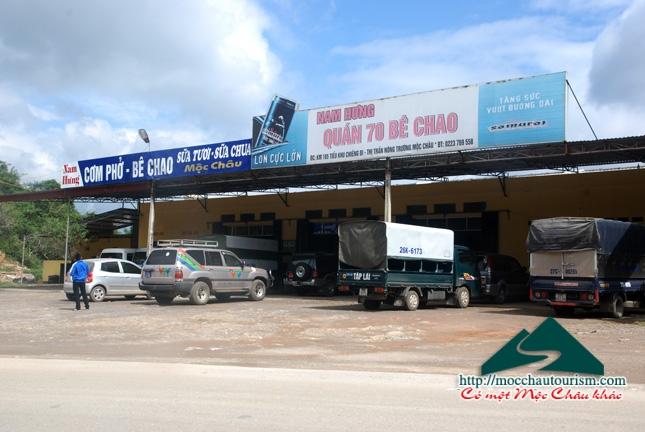 Khuyến mại dịch vụ ăn uống tại Mộc Châu