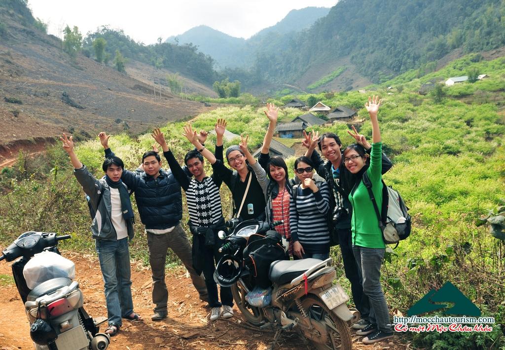 Cho thuê xe máy tại Mộc Châu