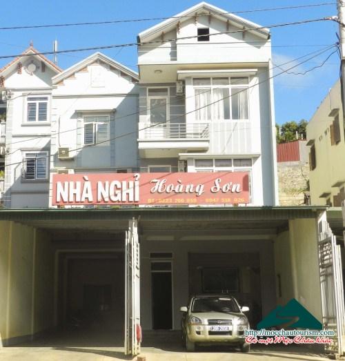 Nhà nghỉ Hoàng Sơn, Thị trấn Nông trường Mộc Châu