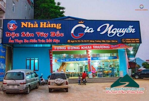 Nhà hàng Gia Nguyễn - Điểm đến trên cao nguyên xanh