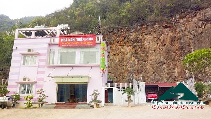 Nhà nghỉ Thiên Phúc Mộc Châu