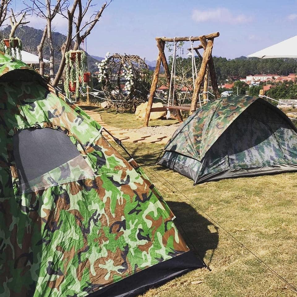 du lịch cắm trại mộc châu