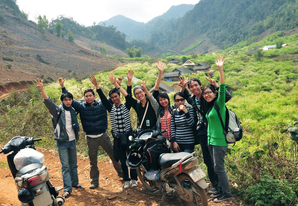 Du lịch phượt – Hướng dẫn đi xe máy phượt Mộc Châu