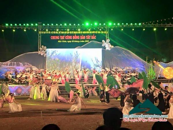 Lịch, chương trình Lễ công bố khu du lịch Quốc gia Mộc Châu