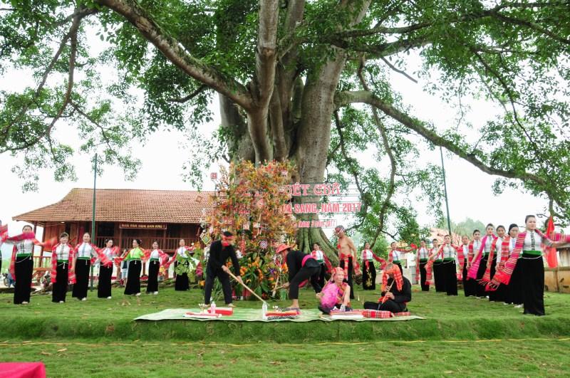 Lễ hội Hết Chá, nét đẹp độc đáo của người Thái ở Mộc Châu