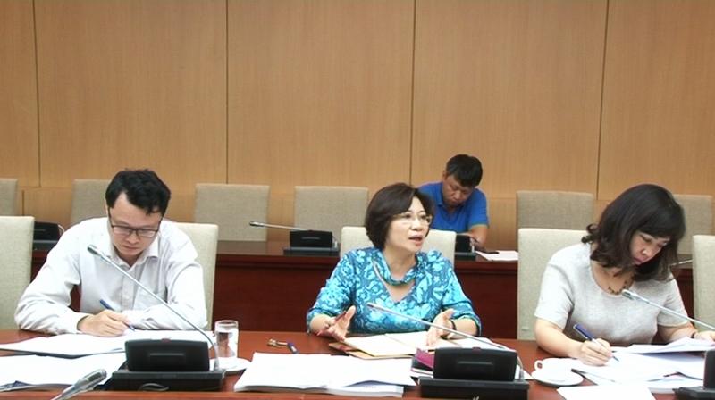 Thứ trưởng Bộ Xây dựng Phan Thị Mỹ Linh cho rằng đơn vị tư vấn không nên mở rộng phạm vi nghiên cứu đồ án
