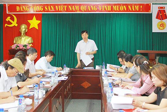 Họp Tổ giúp việc các hoạt động Tuần Văn hóa – Du lịch tỉnh Sơn La năm 2018.