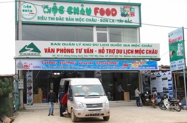 Mộc Châu Food, siêu thị đặc sản Mộc Châu chuyên bán quà lưu niệm Sơn La
