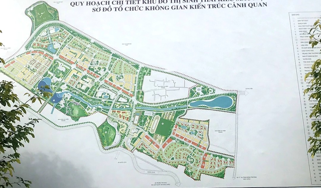 khu đô thị sinh thái Mộc Châu