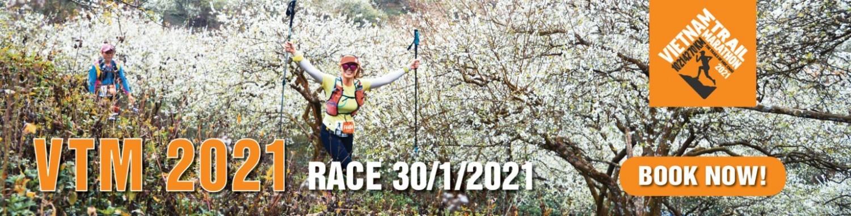 Giải chạy Vietnam Trail Marathon 2021 Mộc Châu