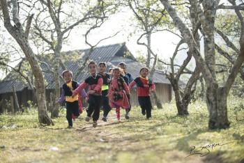 Ngày tết của đồng bào Hmong Mộc Châu rực rỡ trên trang ảnh nổi tiếng