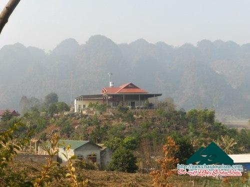 Bán Homestay ở Mộc Châu, rộng 1,1 ha, mọi thứ đã đầu tư sẵn