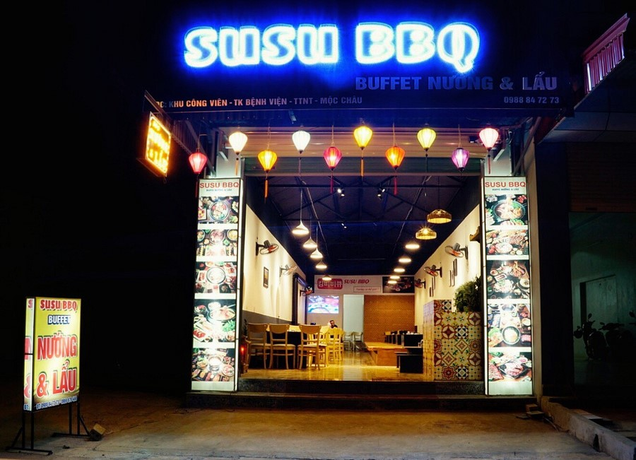 SUSU BBQ - Lẩu Nướng Mộc Châu