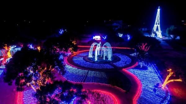 công viên ánh sáng - nhà nghỉ nga đức mộc châu