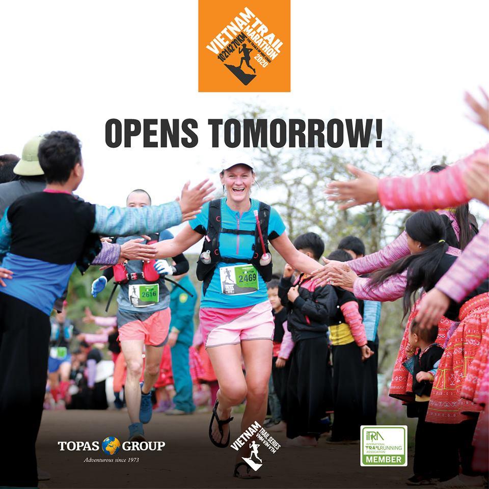 Vietnam Trail Marathon 2020 sẽ tổ chức vào ngày 11/1/2020 tại Mộc Châu