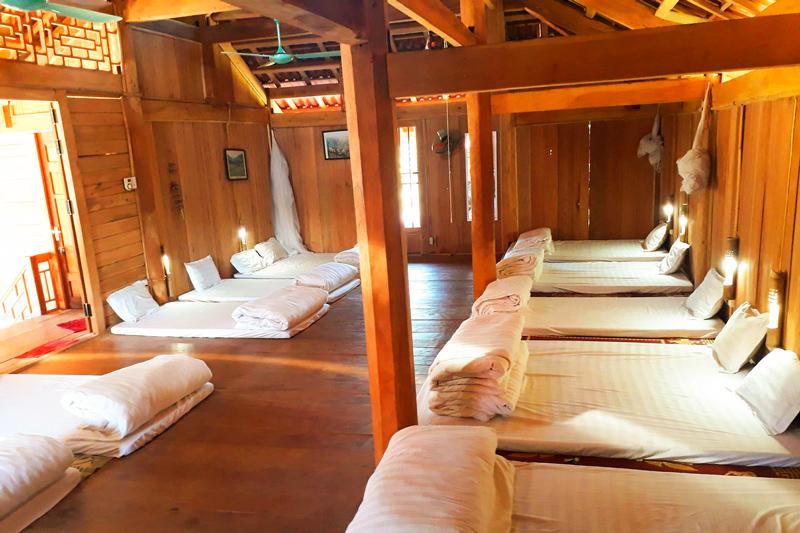 Moc Chau stilt house
