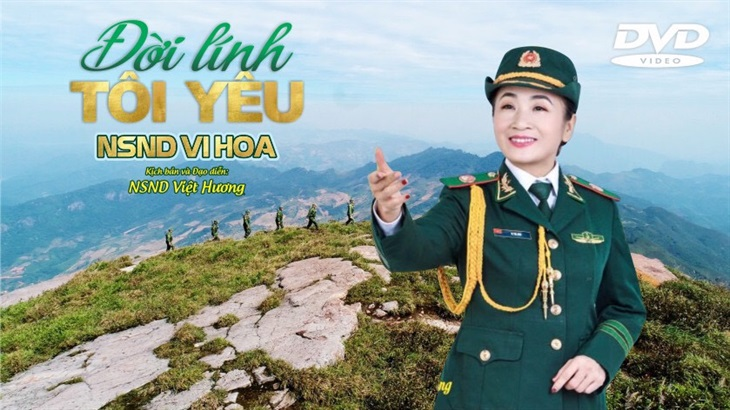 NSND Vi Hoa ra mắt DVD
